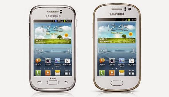 Samsung Galaxy Young dan Galaxy Fame Dengan Android 4.1 Jelly Bean