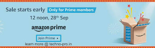 Amazon Great Indian Sale September 2019, check what's benefits here
