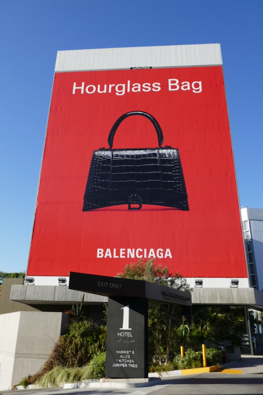 Balenciaga Hourglass Bag S2020 billboard