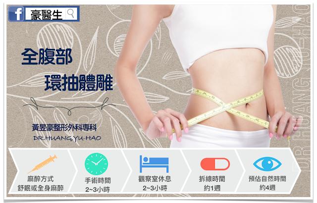 高雄自體脂肪移植-全腹部環抽體雕