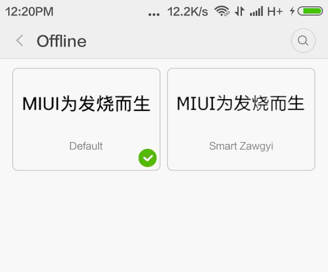 Cara Paling Manjur Ganti Font Di Xiaomi Miui 7.2 Di Xiaomi Redmi Note 3 PRO + Bisa Ambil Font Official Lagi: Penasaran? Ini Tutorialnya