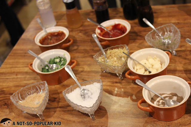 Sauces for Korean Manor Buffet - Shabu-Shabu