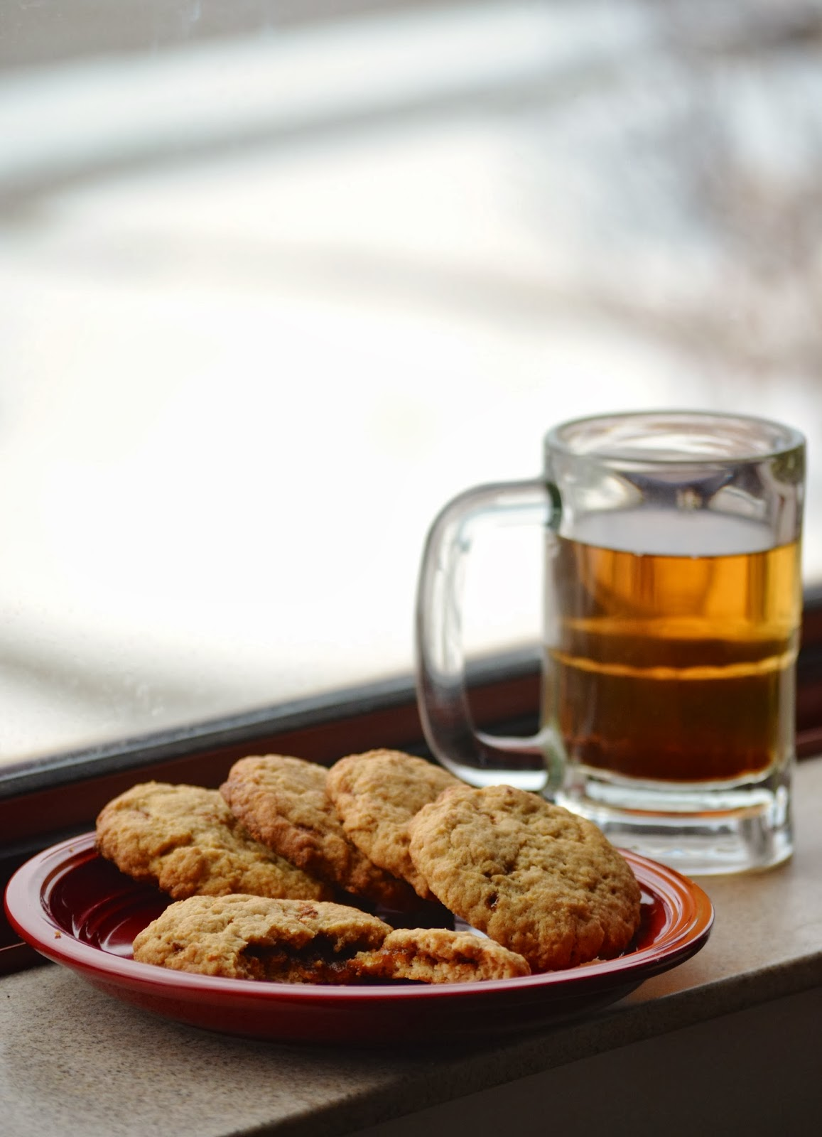 apple cider caramel cookies recipe