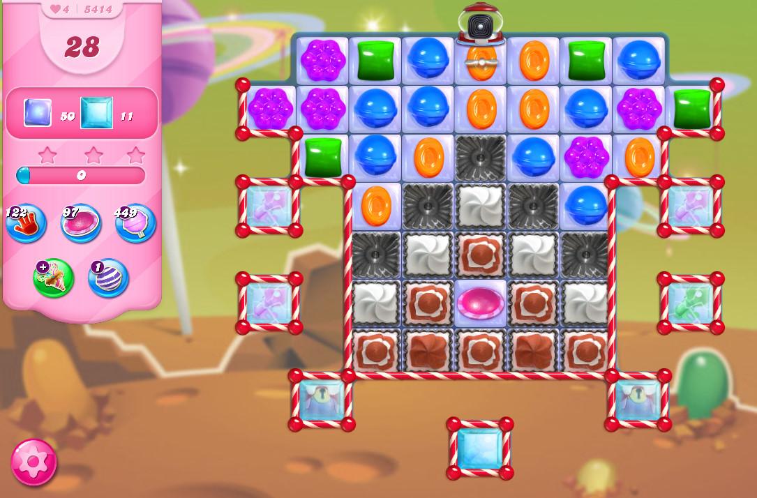 Candy Crush Saga level 5414