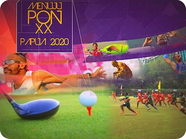 Venue Golf dan Rugby di Mimika Belum Memenuhi Standar PON XX