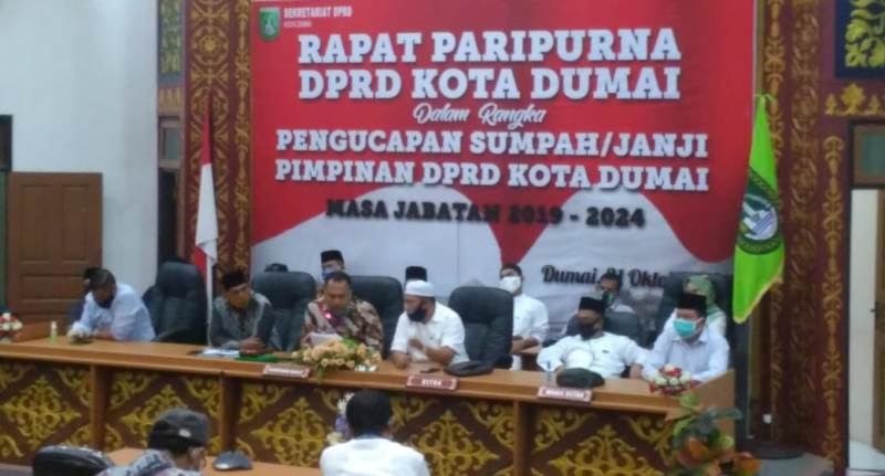 DPRD Dumai Minta, 'Kawal' Dana Anggaran Covid-19 Miliaran Rupiah Tepat Sasaran