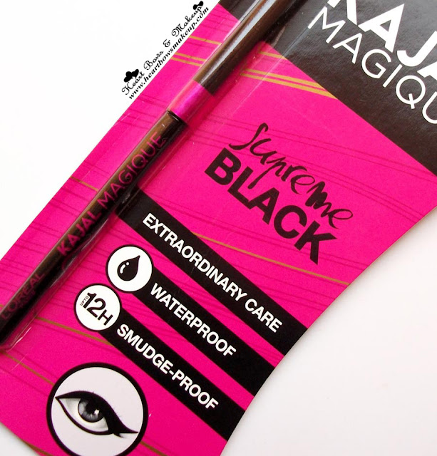 Loreal Kajal Magique Review Swatches Loreal Kajal Review Best Kajal Review