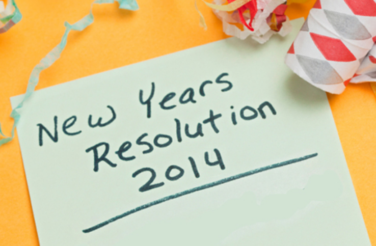 Personal Financial And Social - New Year's Resolutions For Businesses [infographic]