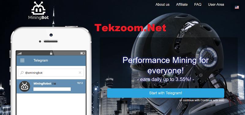[SCAM] Review Mining Bot  : Đầu tư trên nền tảng telegram, lợi nhuận từ 2.74% đến 3.55% mỗi ngày