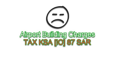 Airport Building Charges TAX KSA [IO] 87 SR