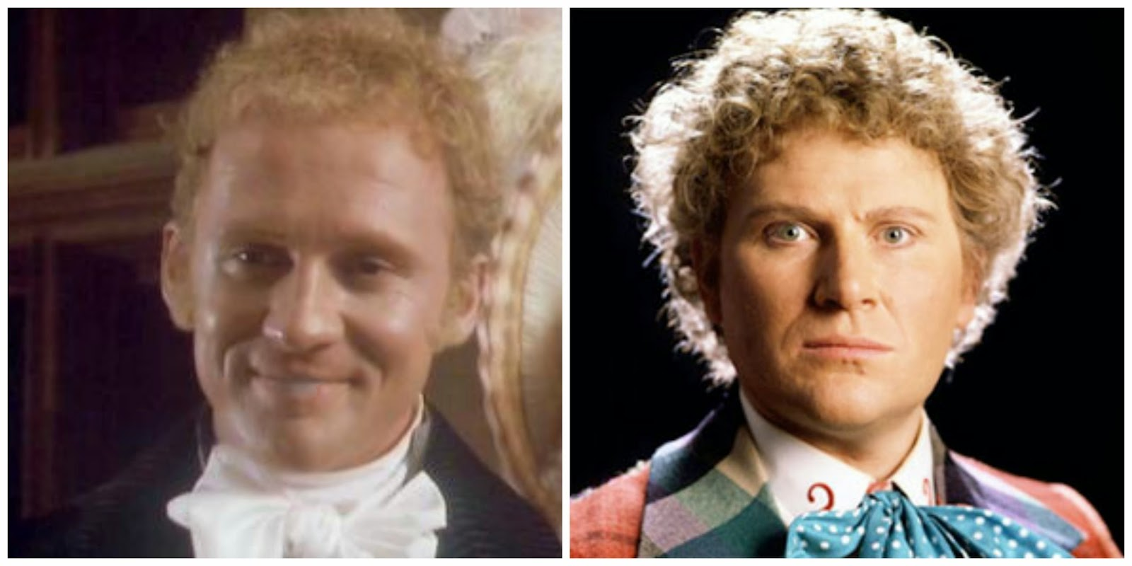Peter Firth as Henry Tilney, Northanger Abbey 1987 and Colin Baker, Doctor Who