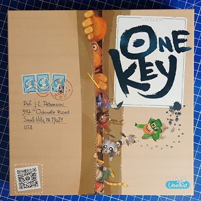 One Key Family Game Review(age 10+) By Libellud, Sent by Asmodee