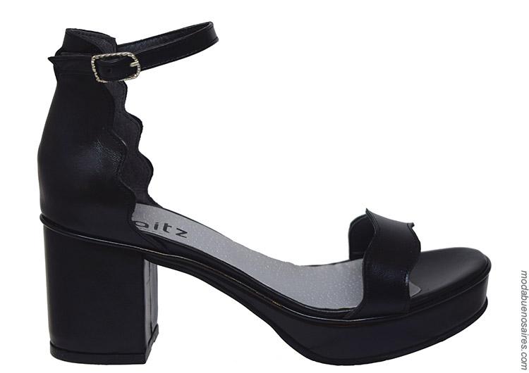 Sandalias primavera verano 2020. Moda calzado femenino primavera verano 2020.