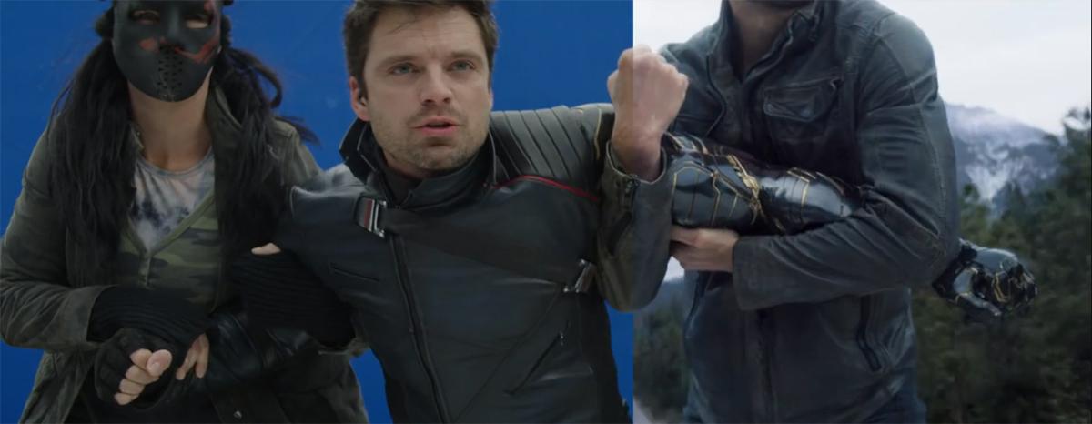 Vídeo revela o antes e depois dos efeitos visuais da série 'Falcão e o Soldado Invernal'