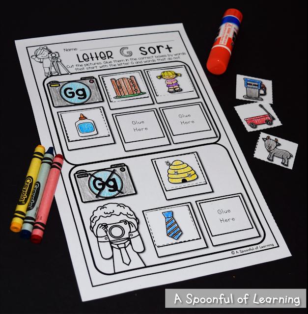 Alphabet Activities 8