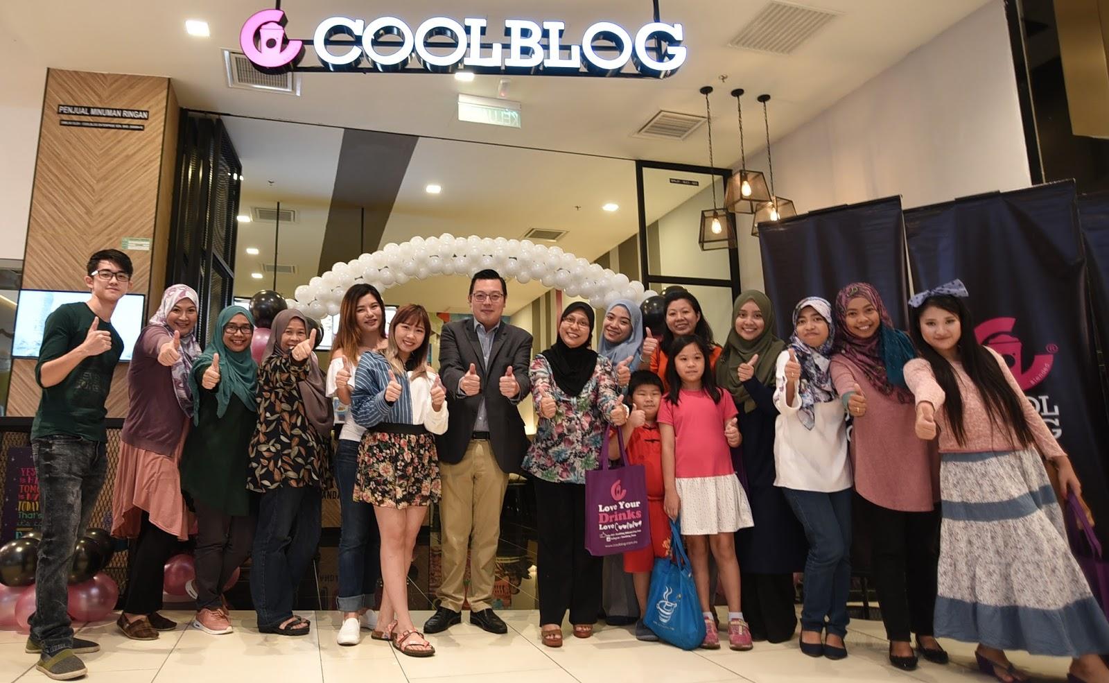 Pembukaan Kiosk Terbesar CoolBlog di Melawati Mall