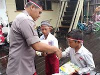 Polda Kalteng Beri Bantuan Kepada Pelajar Darul Muallaf Palangka Raya