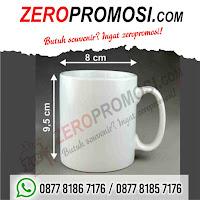Mug Keramik Standar, souvenir Mug standar promosi, Mug Standar Kramik Murah, Mug Standar Printing/Press