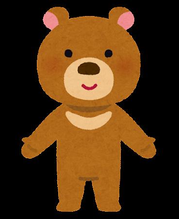 熊のキャラクター