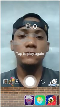 "Face Filter Game Instagram ""lop-lop"""