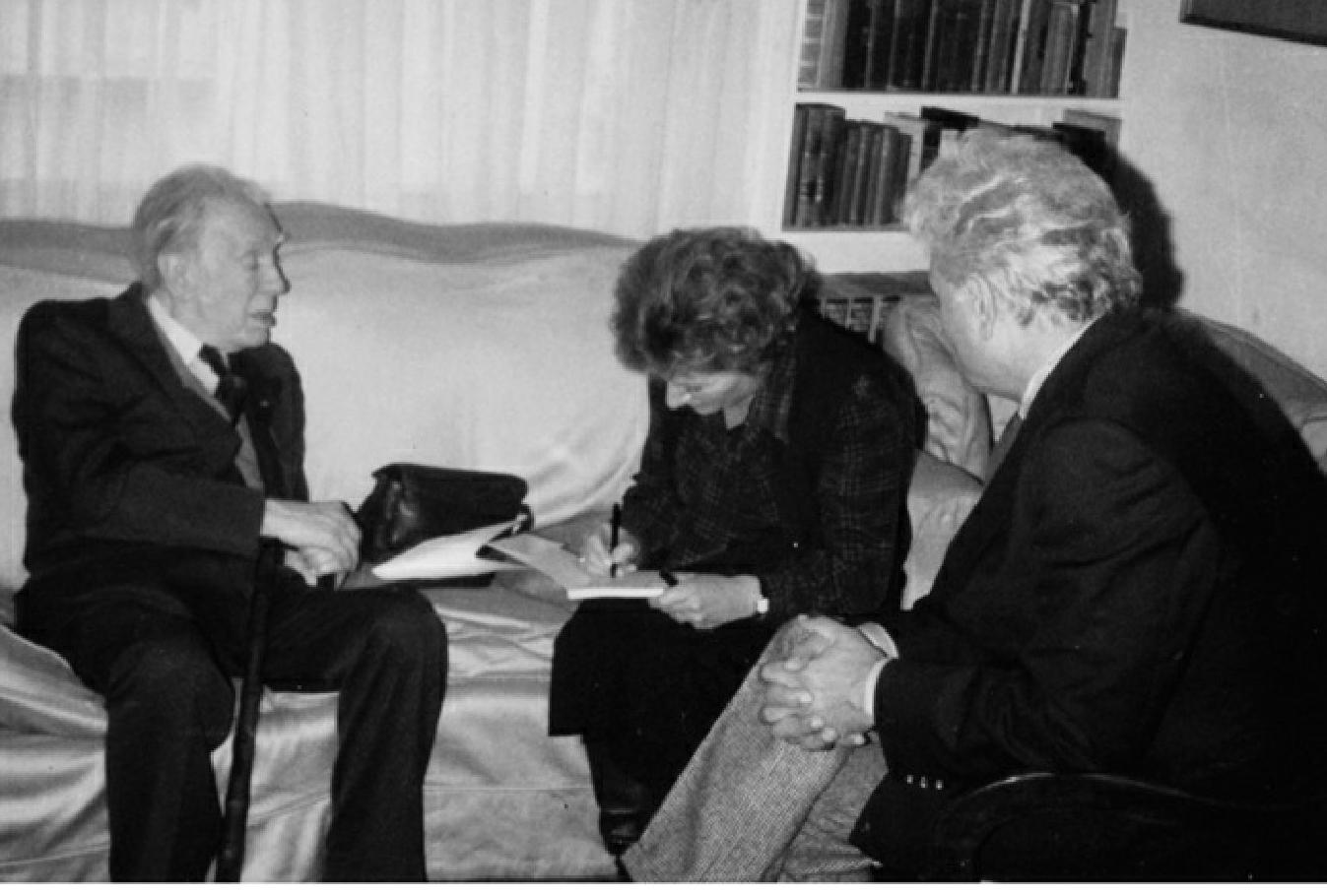 Borges todo el a o lisa block de behar borges razones y for Borges el jardin