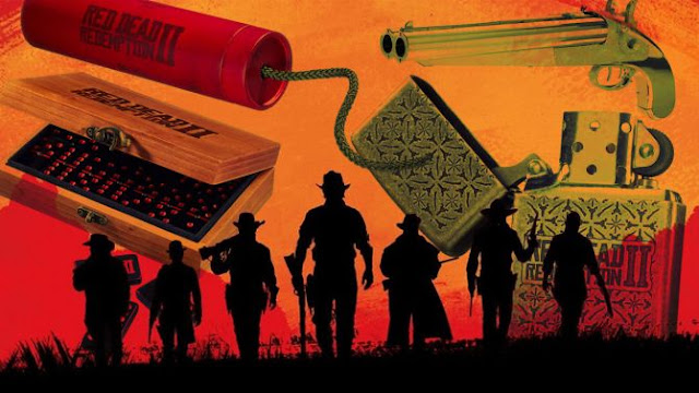 روكستار تواصل تسويق لعبة Red Dead Redemption 2 و تكشف عن مجموعة منتجات رائعة من هنا ..