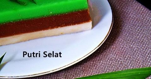 EDISI KUE : Kue Putri Selat lezzat dan guriiihhh
