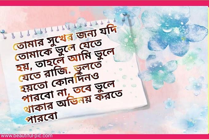 Bengali sad shayari | Bangla sad kobita[দুঃখের সায়ারি]