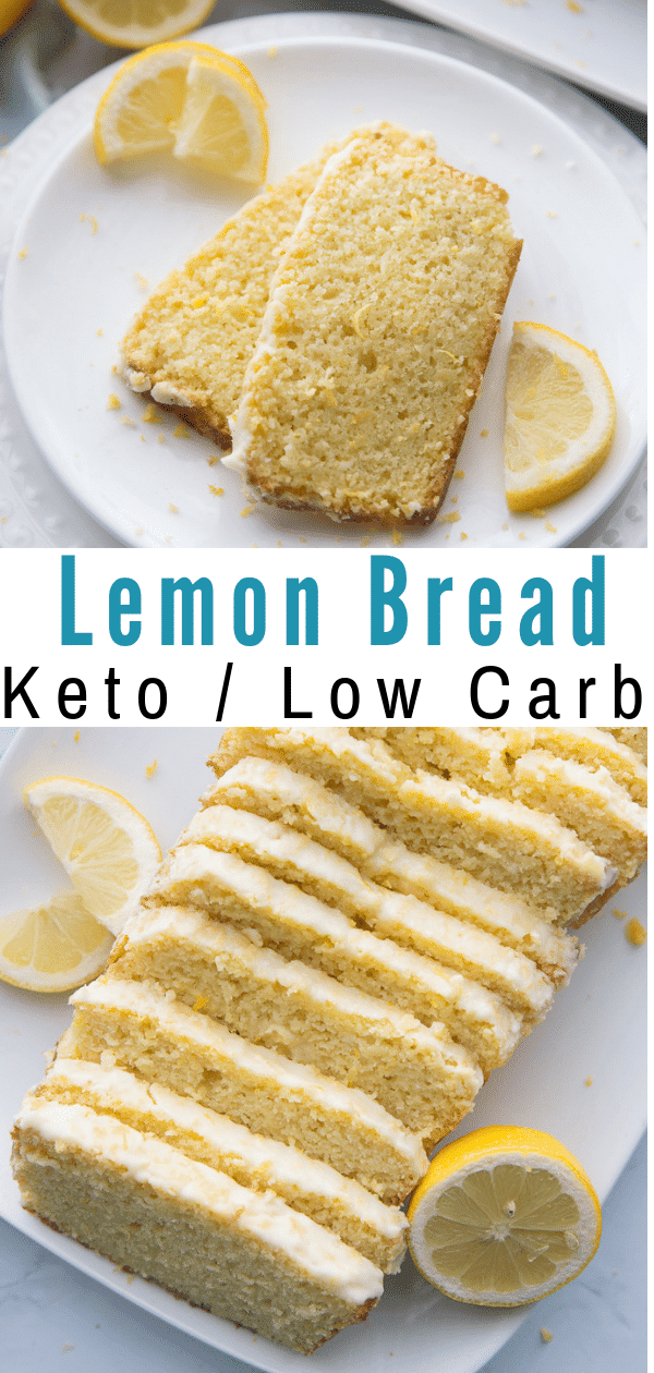 Keto Lemon Bread Recipe