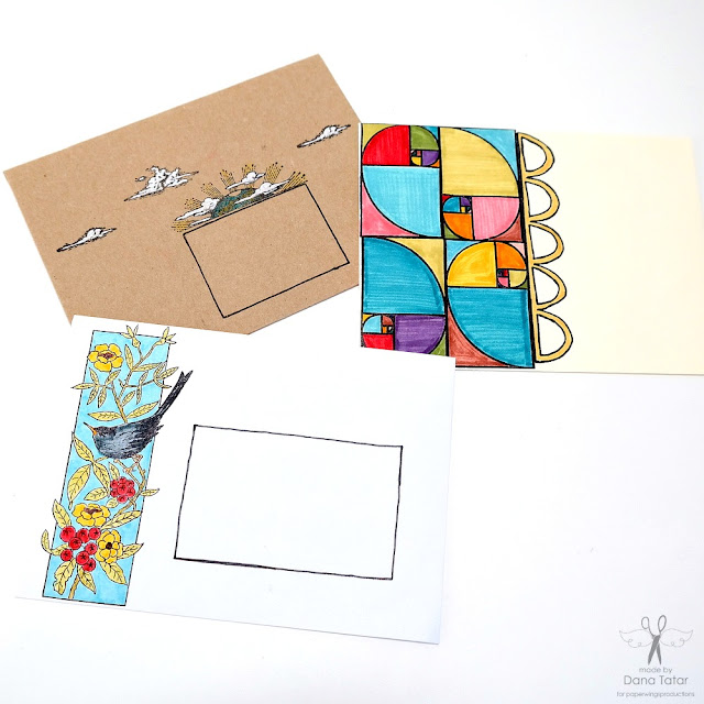 Stamped Mail Art Envelopes