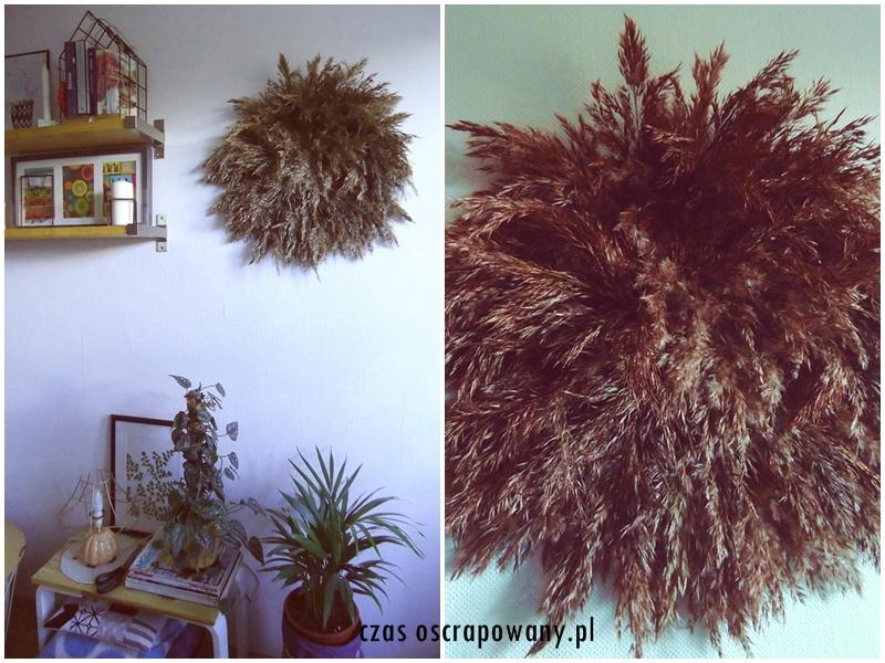 juju hat, dekoracja jesienna hand made