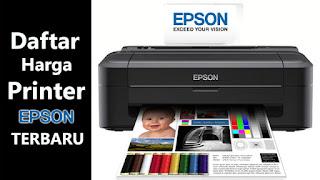 Daftar Harga Printer Epson 2018