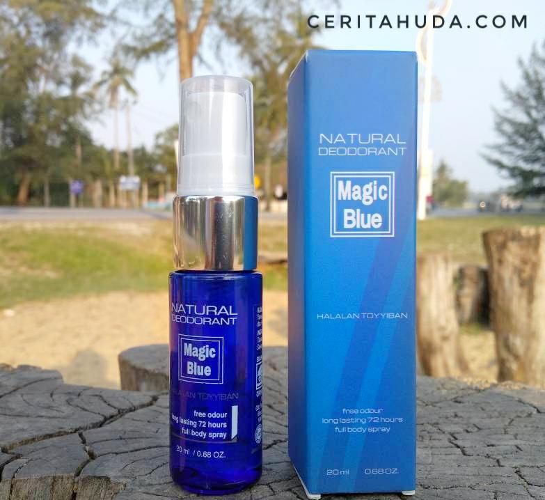 Magic Blue - Deodorant Semulajadi Terbaik!
