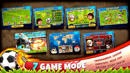 Head Soccer Mod Apk For Android