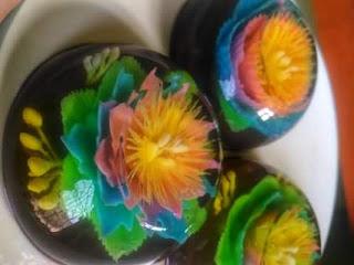 Cara Membuat Puding Agar-agar Kreasi Jelly Art