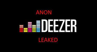 725+ Combo List Accounts Deezer Premium Free 2019