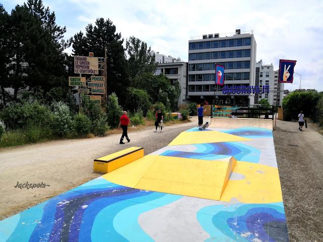 skate park éphémère wonderland vincennes