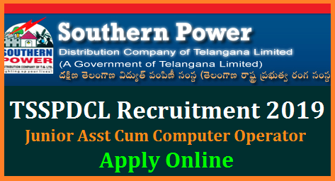 Telangana State Southern Power Distribution Company Limited TSSPDCL has come with attractive Recruitment Notification for any Degree holders against vacancies of Junior Assistants cum computer Operators. Eligible interested aspirants may go through the detailed Notification for Educational Qualifications eligibility criteria Important dates to Submit Online Applications Form at official website www.tssouthernpower.com. This Notification mean t fill up 500 Junior Assistant cum computer operator posts in TSSPDCL Here are the complete details tsspdcl-junior-assistant-cum-computer-jobs-apply-online