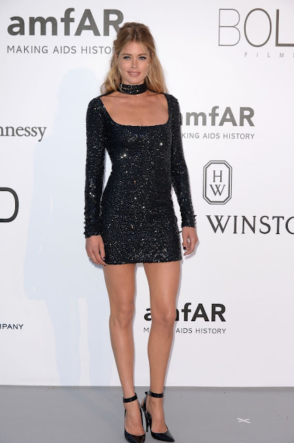 Actress, Model, @ Doutzen Kroes at Amfar's 23rd Cinema Against Aids Gala in Antibes