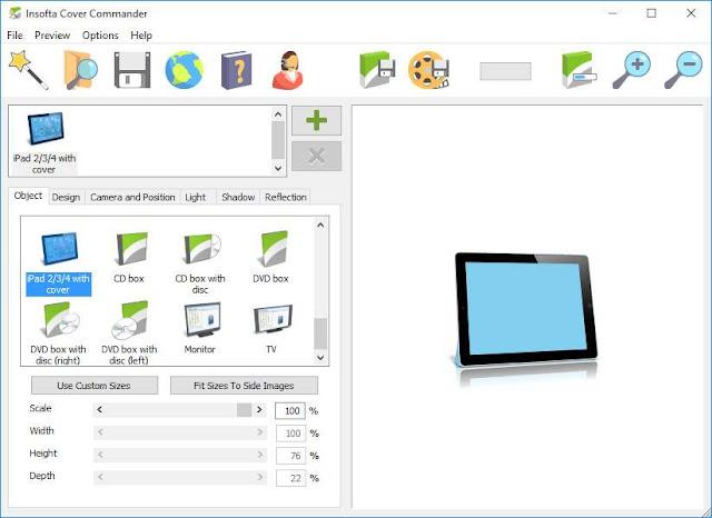 Screenshot Insofta Cover Commander 5.9.0 Full Version