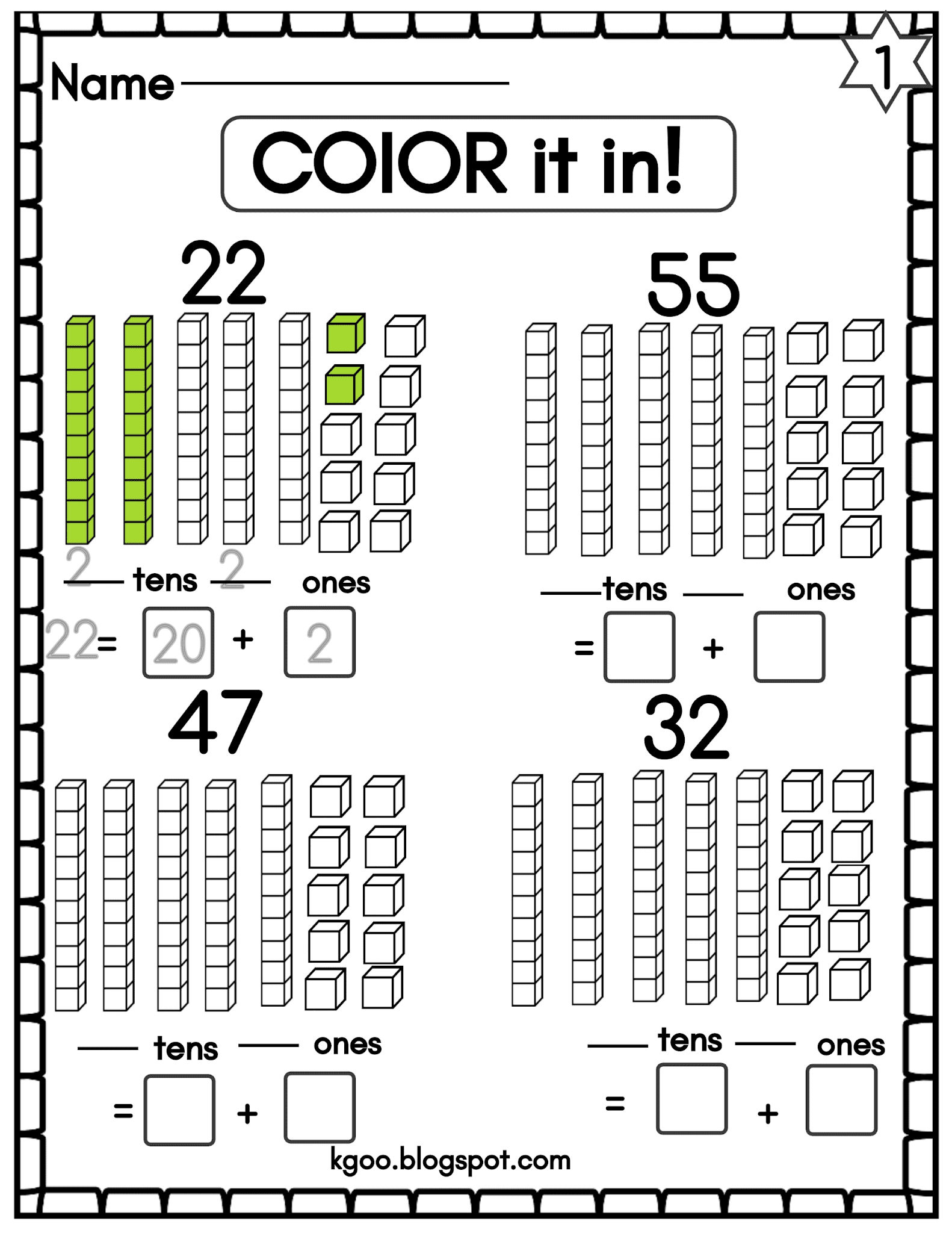 Place Value Worksheets With Answers