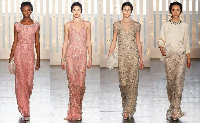 NYFW fall 2014 rtw evening dresses Jenny Packham