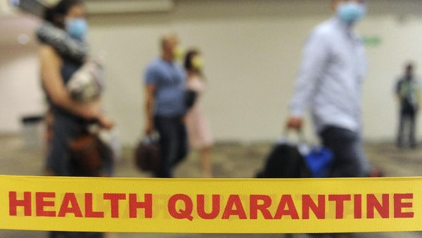 Warga AS yang Dievakuasi dari China karena Virus Corona Tiba di California