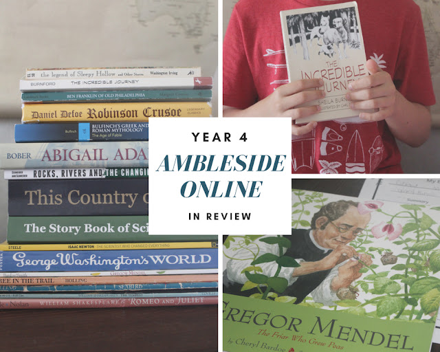 Ambleside Online Year 4 in review