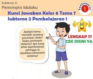 Kunci Jawaban Kelas 6 Tema 7 Subtema 2 Pembelajaran 1 www.simplenews.me