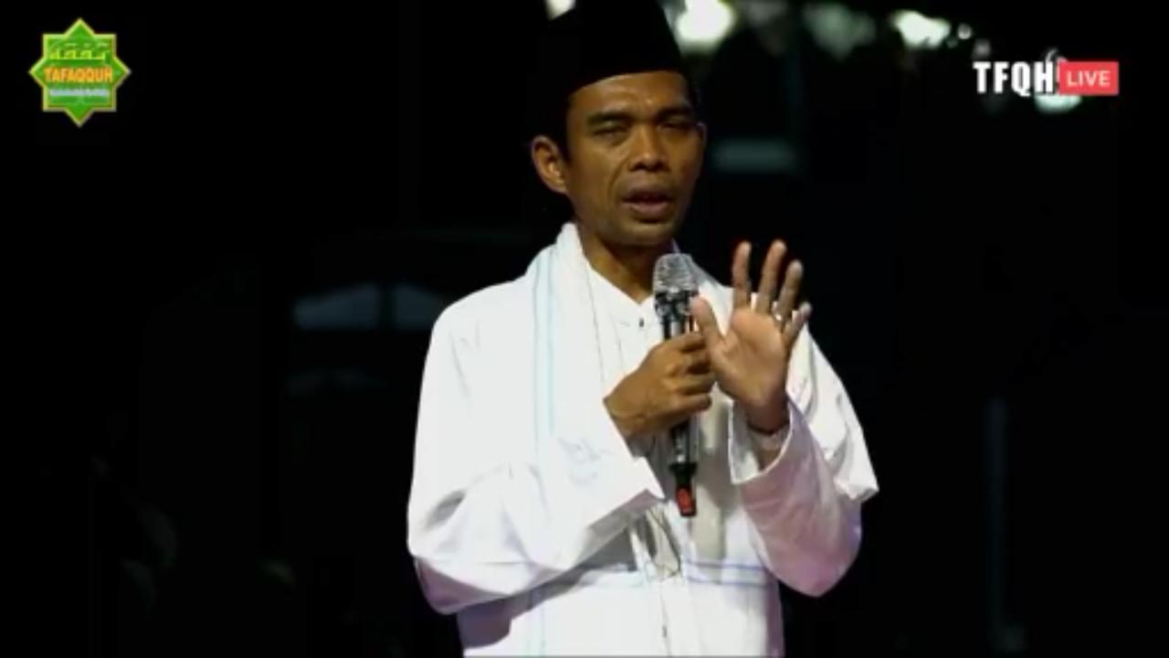 Keliling 4 Pulau dalam 2 Hari, Ustadz Abdul Somad Sehat dan Bugar karena Doa Ini