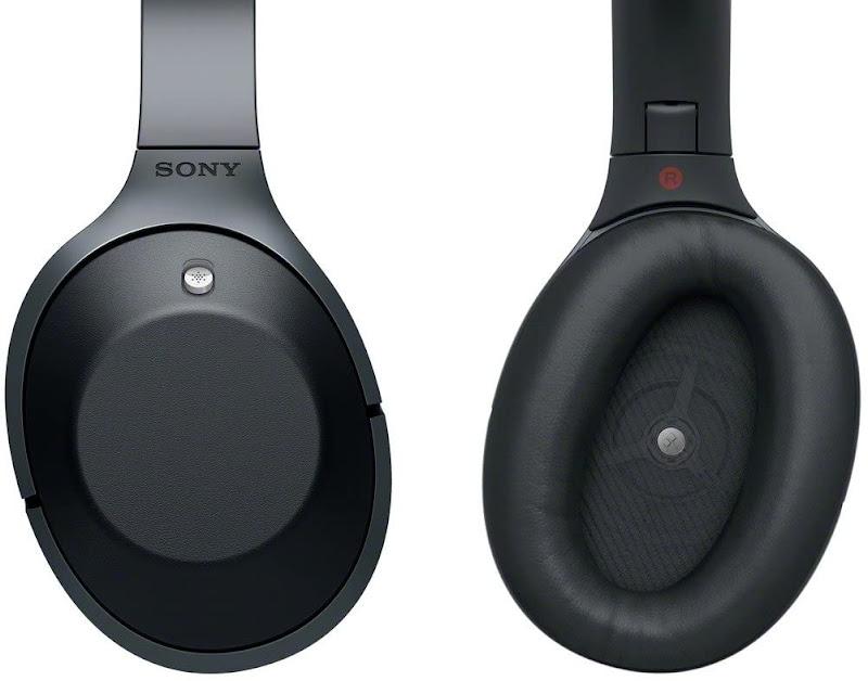 Sony MDR 1000X headphones (helmet's inside & outside)