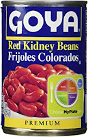 Goya Red Kidney Beans in a Can