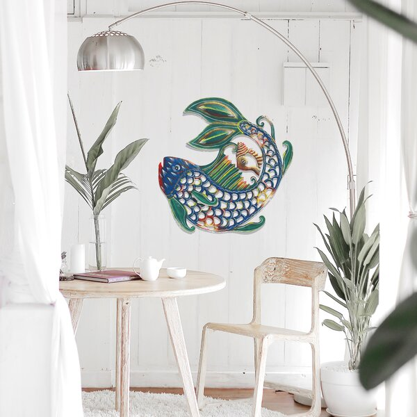 Fish and Shell Wall Decor