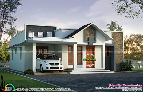 1800 sq ft 4 Bed single floor villa